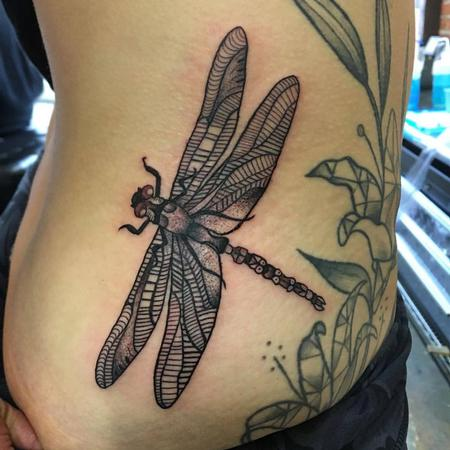 Dragon Fly Tattoo Tattoo Thumbnail