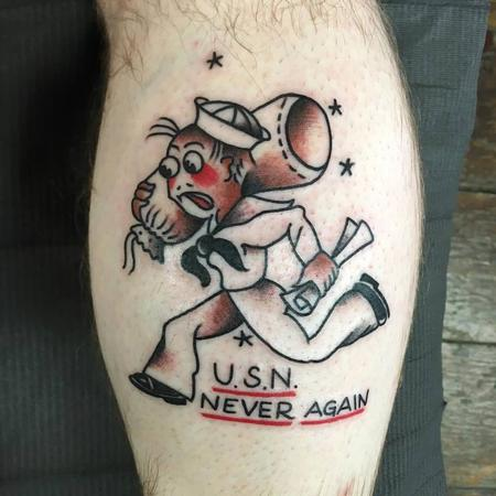 Sailor Jerry Sailor Tattoo Tattoo Thumbnail