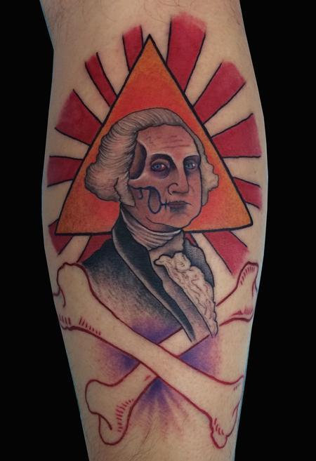 George Washington Tattoo Tattoo Thumbnail