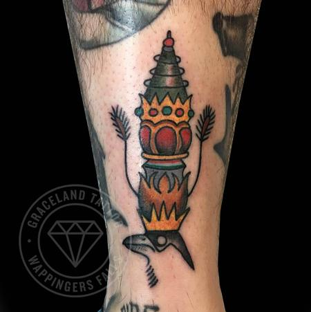 Higgs Artwork Tattoo Tattoo Thumbnail