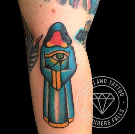 Higgs Druid Tattoo Tattoo Thumbnail